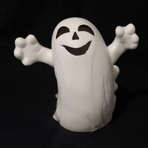 Vintage Halloween Ghost Pot Planter Bowl Succulent
